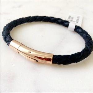 Sale! Saks Fifth Ave leather bracelet